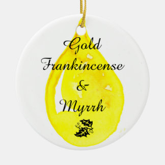 Gold, Frankincense and Myrrh. Ornament