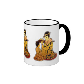 Gold Geisha Coffee Mug