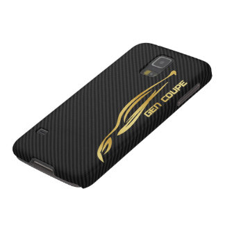 Gold Genesis COUPE Logo Case For Galaxy S5