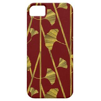 gold ginkgo iPhone 5 case