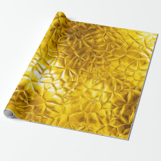 Gold Gleam Wrapping Paper