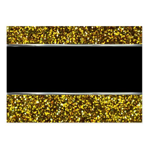 Gold Glitter Background Pattern Pack Of Chubby Business Cards