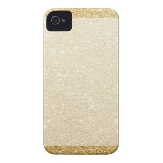 gold glitter blank template for customization Case-Mate iPhone 4 cases