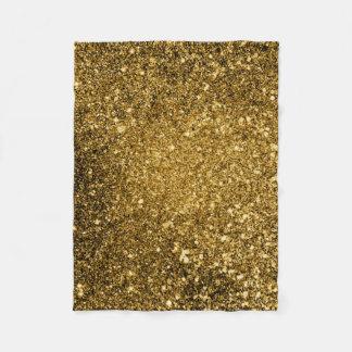 Gold Glitter Blanket