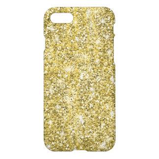 Gold Glitter Cool Print Zazzle iPhone 7 Case