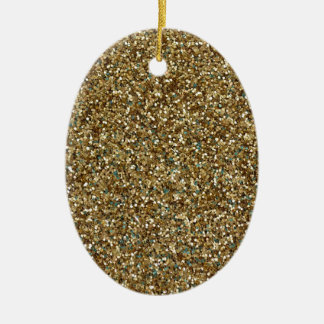 GOLD GLITTER ~ for Holidays or Every Day! Christmas Ornament