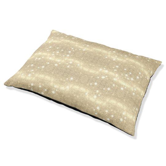 Gold Glitter Galaxy Faux Space Sparkle