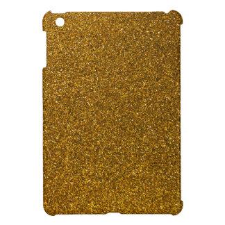 Gold Glitter iPad Mini Cases