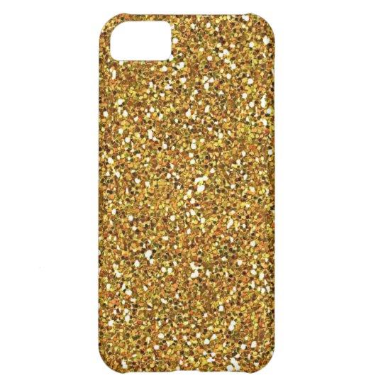 gold glitter iphone 5 case