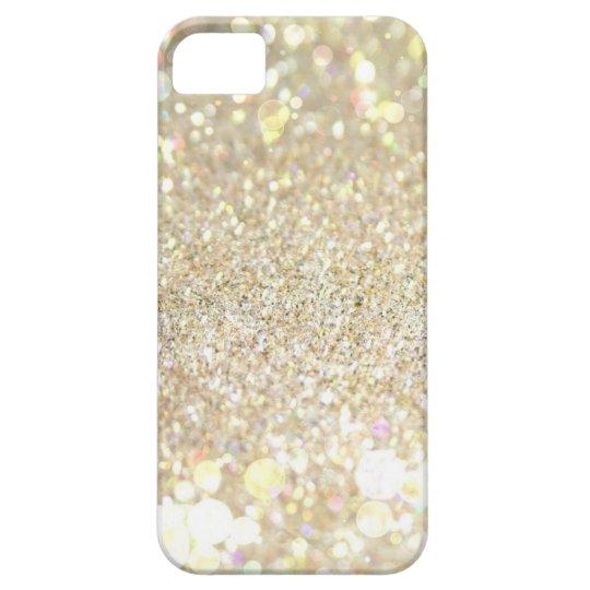 Gold glitter iPhone 5s case