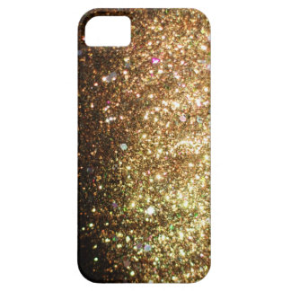 Gold Glitter iPhone Christmas Case iPhone 5 Case