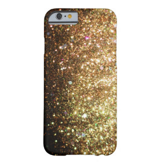 Gold Glitter iPhone Christmas Case Barely There iPhone 6 Case