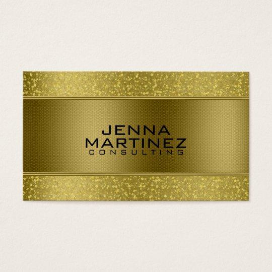 Gold Glitter & Metallic Silver Mash Consulting Business