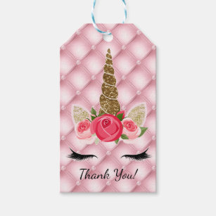 23230cf10abb8 Rose Gold Glitter Gift Tags & Gift Enclosures   Zazzle.co.uk