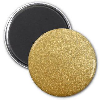 GOLD GLITTER PRINT MAGNET