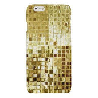 Gold Glitter Sequins Look iPhone Case iPhone 6 Plus Case