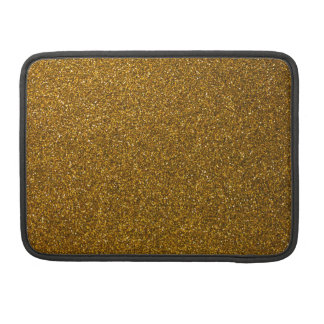Gold Glitter Sleeve For MacBook Pro
