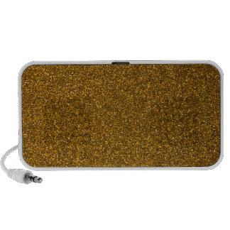 Gold Glitter Mini Speaker