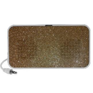 Gold Glitter Travelling Speaker