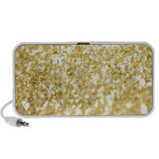 Gold Glitter Mini Speakers