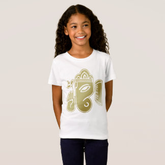 Gold Goddess Ganesha - Girls' T-Shirt