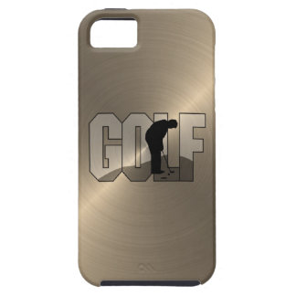 Gold Golf iPhone 5 Cases