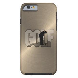 Gold Golf iPhone 6 Case