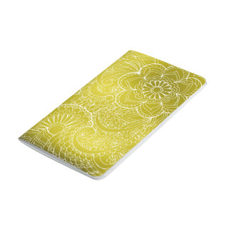 gold gradient zen pattern journals