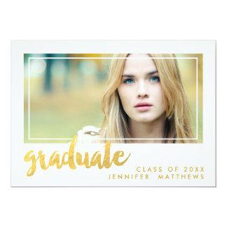 Gold Graduate | Graduation Party Invitation