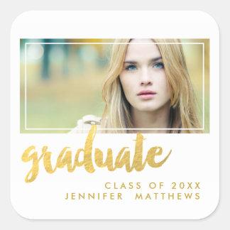 Gold Graduate | Graduation Party Sticker