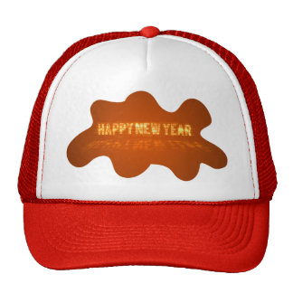 Gold happy New Year Hat
