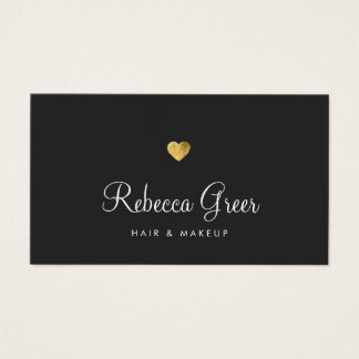 Gold Heart Beauty Salon Appointment Reminder