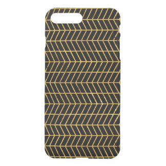 Gold Herringbone iPhone 8 Plus/7 Plus Case
