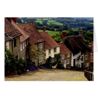 Gold Hill - Dorset Card
