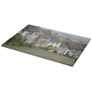Gold Hill, Shaftesbury, Dorset, England, United Cutting Board