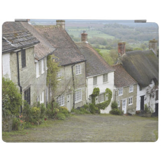 Gold Hill, Shaftesbury, Dorset, England, United iPad Cover