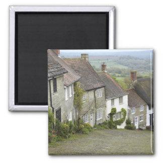 Gold Hill Shaftesbury Dorset England United Fridge Magnet