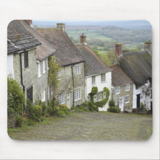 Gold Hill, Shaftesbury, Dorset, England, United Mouse Mat