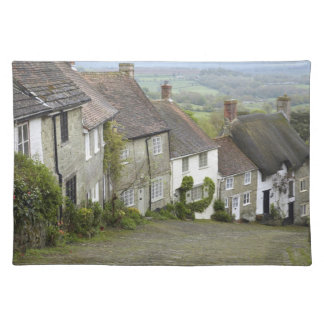 Gold Hill, Shaftesbury, Dorset, England, United Placemat