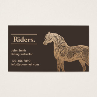 98 horse trainer business cards and horse trainer for Horse trainer business cards