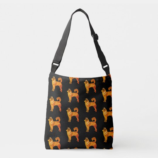 Gold Husky Dog Tote