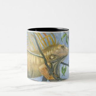 Gold Iguana Mug