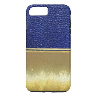 Gold Illusions Blue Reptile Skin Case
