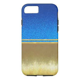 Gold Illusions Cool Purple Slim Shell Case