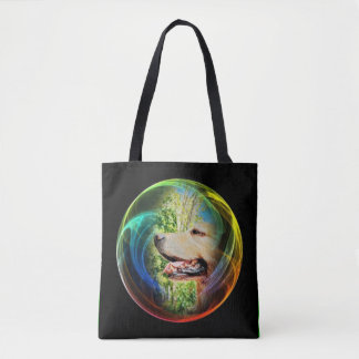Gold in a bubble‼️ tote bag