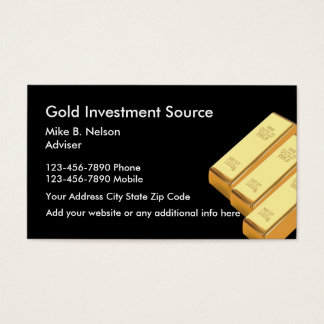 Gold Investing Commodities