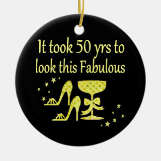GOLD IT TOOK 50 YRS TO LOOK THIS FABULOUS CHRISTMAS ORNAMENT
