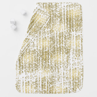 Gold Jewel Bokeh Abstract Baby Blanket