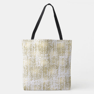 Gold Jewel Bokeh Abstract Tote Bag
