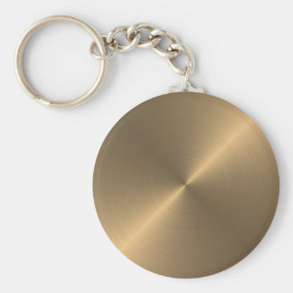 Gold Key Ring